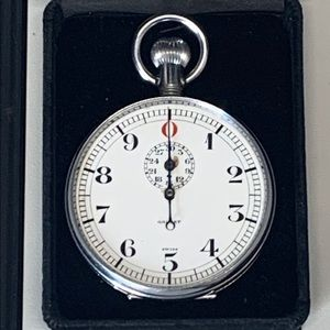Vintage 1962 Gallet split-second Stopwatch timer